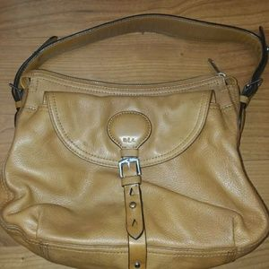 Vintage Ralph Lauren small leather hobo